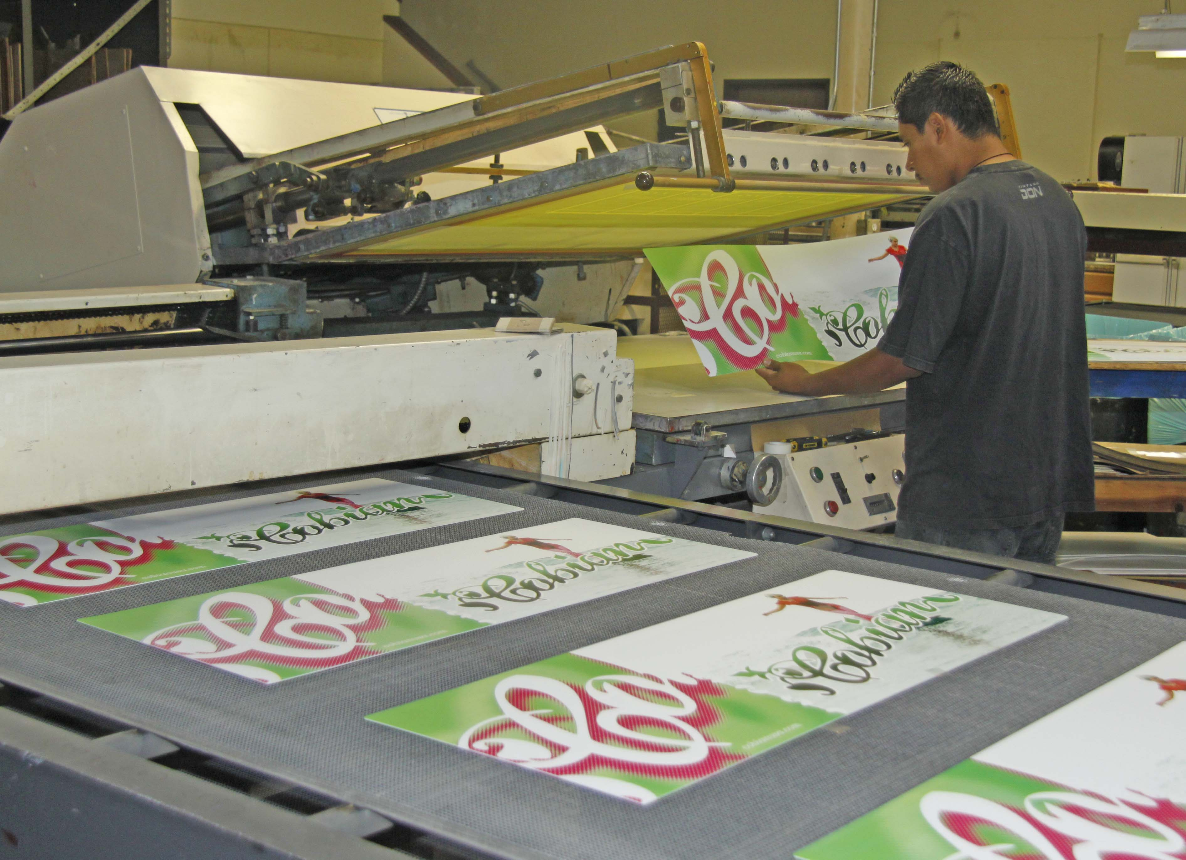 Screenprinting/Silk Screening